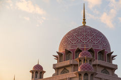 Putra mosque in putrajaya Stock Photography