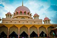 Putra Mosque of Putrajaya, Malaysia Royalty Free Stock Photo