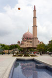 Putra Mosque in Putrajaya, Malaysia Royalty Free Stock Photo