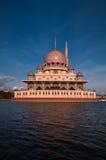 Putra Mosque in Putrajaya, Malaysia Stock Photos