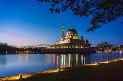Putra mosque putrajaya Stock Image