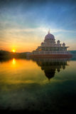 Putra Mosque Sunrise Royalty Free Stock Image