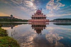 Putra mosque sunrise Stock Photos