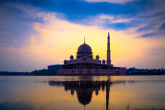 Putra mosque Royalty Free Stock Photos