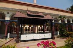 Putra Nilai清真寺的洗净液在Nilai,森美兰,马来西亚 免版税库存照片