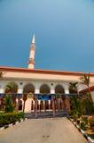 Putra Nilai moské i Nilai, Negeri Sembilan, Malaysia Royaltyfri Bild