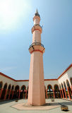 Putra Nilai Mosque in Nilai, Negeri Sembilan, Malaysia. Negeri Sembilan, Malaysia – March 06, 2014: Putra Nilai Mosque was located at Nilai, Negeri Sembilan Stock Photo
