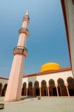 Putra Nilai Mosque in Nilai, Negeri Sembilan, Malaysia. Negeri Sembilan, Malaysia – March 06, 2014: Putra Nilai Mosque was located at Nilai, Negeri Sembilan Royalty Free Stock Photography
