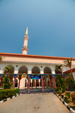Putra Nilai Mosque in Nilai, Negeri Sembilan, Malaysia. Negeri Sembilan, Malaysia – March 06, 2014: Putra Nilai Mosque was located at Nilai, Negeri Sembilan Royalty Free Stock Image