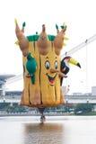 Putrajaya国际热空气气球节日 免版税库存照片