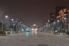 Putrajaya alla notte Fotografia Stock Libera da Diritti