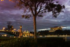 Putrajaya International Convention Centre (PICC) and Seri Gemilang Bridge  Stock Photos