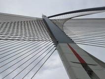 Putrajaya bridge, Kuala Lumpur. Details of Jambatan Seri Wawasan bridge in Kuala Lumpur Stock Photography