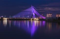 Putrajaya Bridge Malaysia Stock Photography