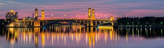 Putrajaya Bridge, Malaysia Royalty Free Stock Photography