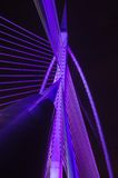 Putrajaya Bridge structure Royalty Free Stock Image