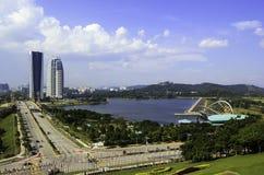 Putrajaya city in Malaysia Royalty Free Stock Photos