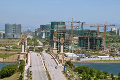 Putrajaya- die neue Stadt stockfotografie