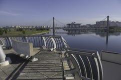 putrajaya för brodäck scenisk sikt Royaltyfri Fotografi