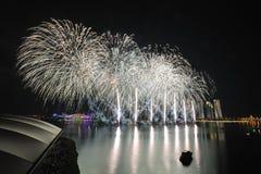 Putrajaya fajerwerków Międzynarodowy festiwal Obrazy Stock