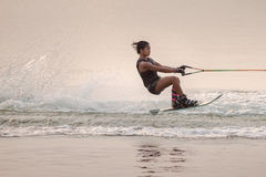 2015 Putrajaya filiżanki Krajowych mistrzostw Wodna narta i Wakeboard Zdjęcia Royalty Free