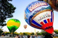 Putrajaya Hot Air Balloon Fiesta Royalty Free Stock Photo