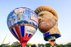 Putrajaya Hot Air Balloon Fiesta Stock Image