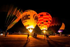 Putrajaya Hot Air Balloon Fiesta Stock Photos