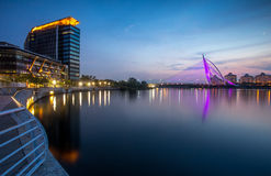 Putrajaya iconic landscape Royalty Free Stock Photos