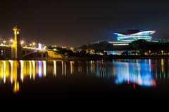 Putrajaya International Convention Centre. Building at night Royalty Free Stock Photography