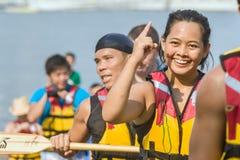 Putrajaya, Kuala Lumpur, festival de barco de dragón imagen de archivo