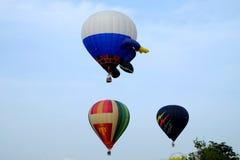 Putrajaya, Malásia - 12 de março de 2015: 7o balão de ar quente internacional Fiesa de Putrajaya em Putrajaya, Malásia Imagem de Stock