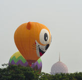 5ème Fiesta chaude internationale 2013 de ballon à air de Putrajaya Photographie stock libre de droits