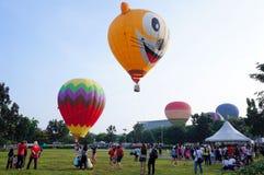 5ème Fiesta chaude 2013 de ballon à air de Putrajaya Image libre de droits