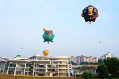 5o Festa 2013 do balão de ar quente de Putrajaya Foto de Stock