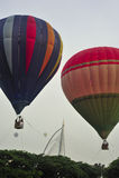 5o Festa internacional 2013 do balão de ar quente de Putrajaya Fotografia de Stock Royalty Free