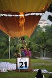 5o Festa internacional do balão de ar quente de Putrajaya Foto de Stock