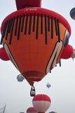 5o Festa internacional 2013 do balão de ar quente de Putrajaya Fotos de Stock Royalty Free