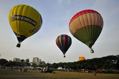 5o Festa internacional 2013 do balão de ar quente de Putrajaya Imagem de Stock