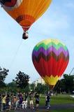 5. Heißluft-Ballon-Fiesta 2013 Putrajayas Stockfoto
