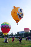 5. Heißluft-Ballon-Fiesta 2013 Putrajayas Lizenzfreies Stockfoto