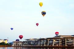 5. Heißluft-Ballon-Fiesta 2013 Putrajayas Stockfotos