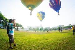 Festa do balão de ar quente Fotos de Stock