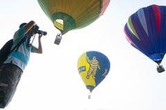 Festa do balão de ar quente Fotos de Stock Royalty Free