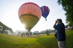Hot Air Balloon Fiesta Stock Photo