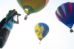 Hot Air Balloon Fiesta Royalty Free Stock Photos