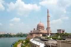 Putrajaya moské Royaltyfri Fotografi