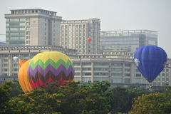 5th Putrajaya International Hot Air Balloon Fiesta 2013 Royalty Free Stock Images