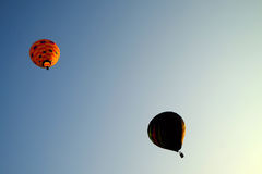 PUTRAJAYA, MALAYSIA - MARCH 14, Hot air balloon in flight at the 7th Putrajaya International Hot Air Balloon Fiesta March 14, 2015 Stock Photos