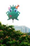5th Putrajaya hoade luftar ballongfiestaen 2013 Royaltyfri Bild